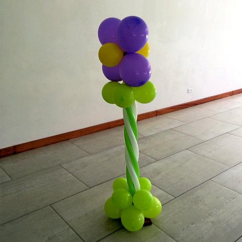 1 Pilar de globos