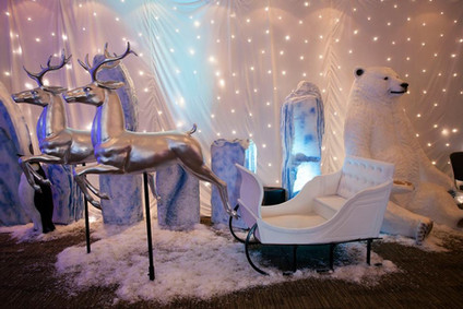 Winter Ice Christmas Prop Hire
