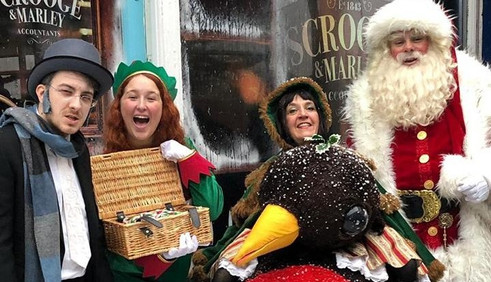 Hire Dickensian Characters for Winter Events