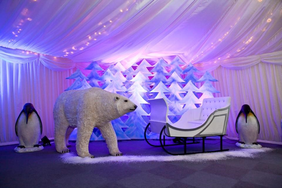 Winter Themed Prop Hire