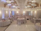 White Wedding Venue Decor Hire