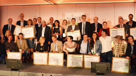 Néo-Eco a reçu le trophée de la stratégie RSE innovante du Réseau Alliances