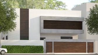 Modern Minimal facade Design