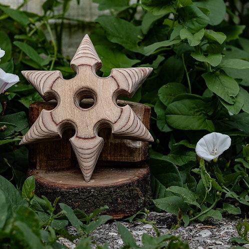 Handmade Wooden Shuriken