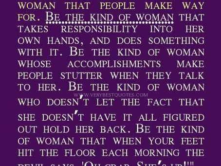A RESPONSIBLE WOMEN