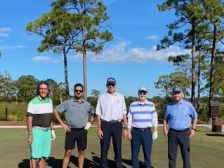 The First Tee of the Treasure Coast Thanks Tom Yeager