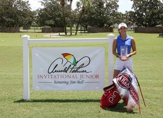 HSGC Junior Member Andie Smith Wins AJGA Tournament in Orlando
