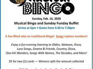 Check this out: Musical Bingo!