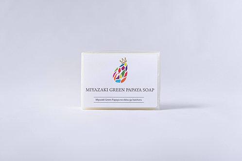 MIYAZAKI GREEN PAPAYA SOAP