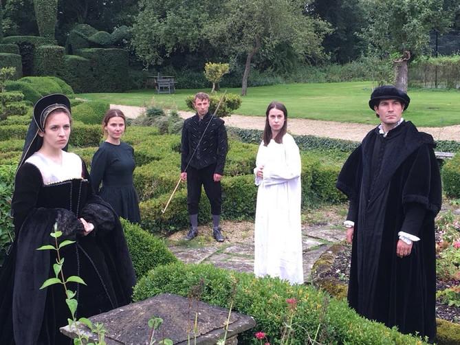 Anne Boleyn in 'Playing the King'