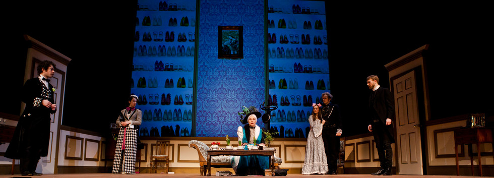 Gwendolen in 'The Importance of Being Earnest'
