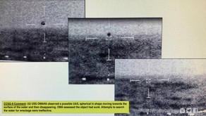Tout savoir sur la vidéo d'OVNIs de forme pyramidale et sur les photos de l'armée américaine