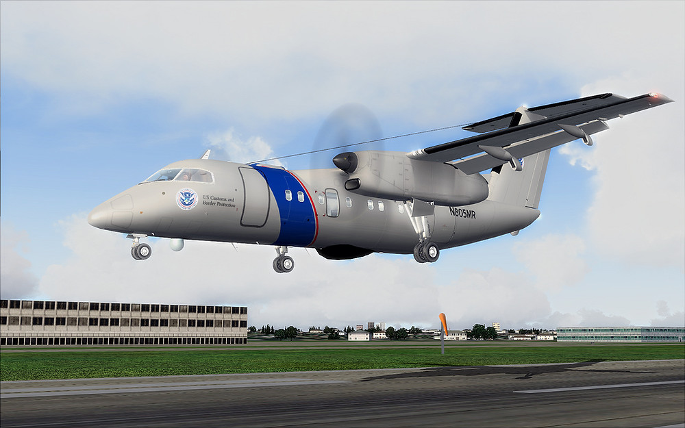 US Customs and Border Protection Bombardier DHC-8Q200 Avion