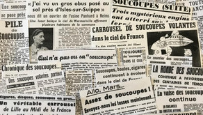 Automne 1954, les soucoupes envahissent la France