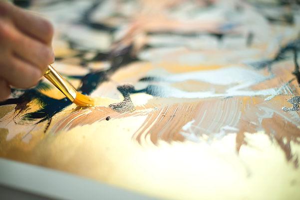 Silkscreen enhancements on giclee prints