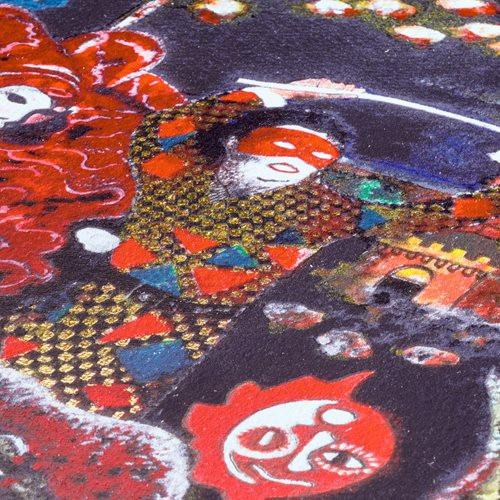 Norwich Castle Fine art print close up