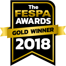 FESPA awards Gold Winner 2018