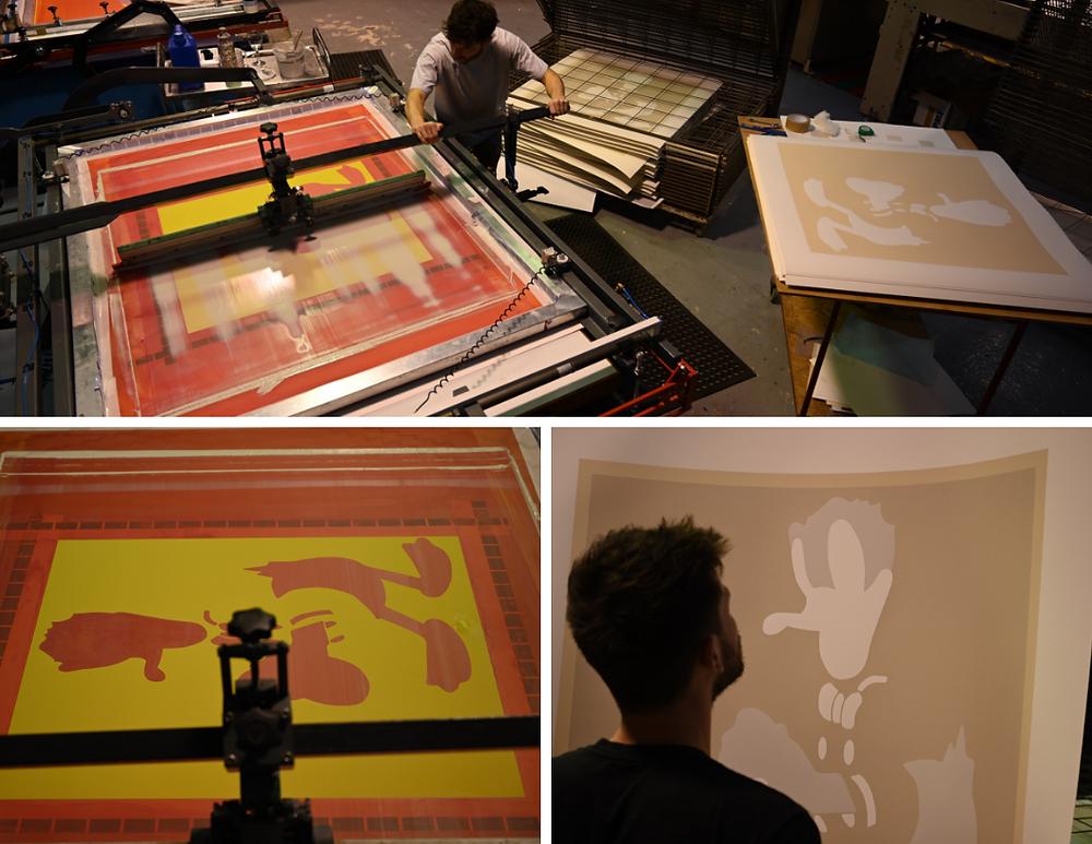 Slikscreen printing David Spiller