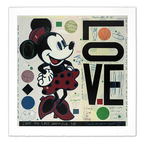 LOVE (Minnie Mouse) by David Spiller