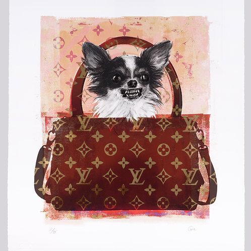 Louis Vitton Dog by Shannan Gia