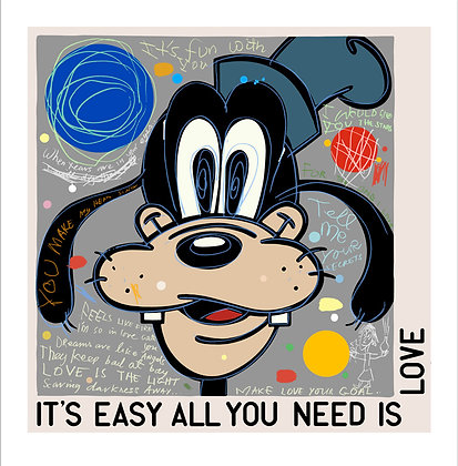 Love is the Light (Goofy) by David Spiller