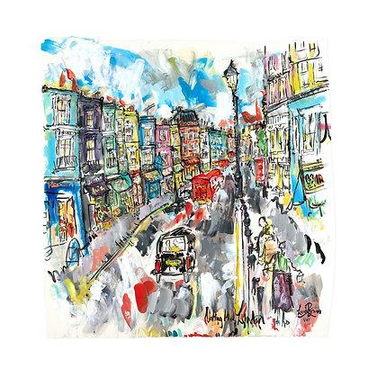 Portobello Road, Notting Hill by Lucinda Burman
