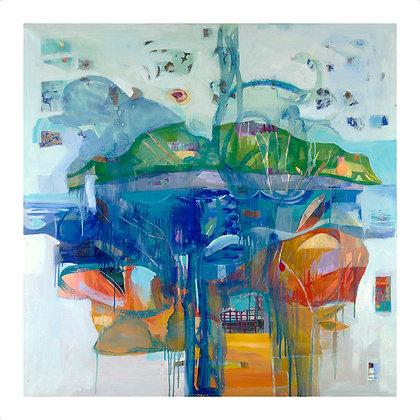 Oasis by Shirin Golestaneh