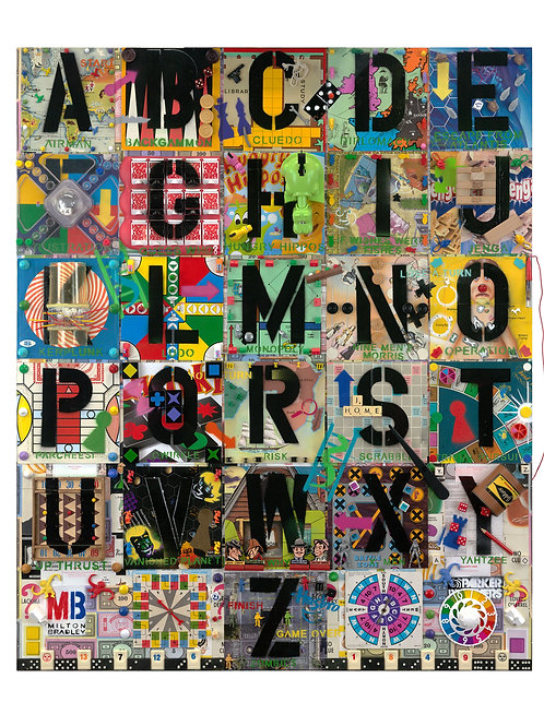 A to Z of Games by Jana Nicole