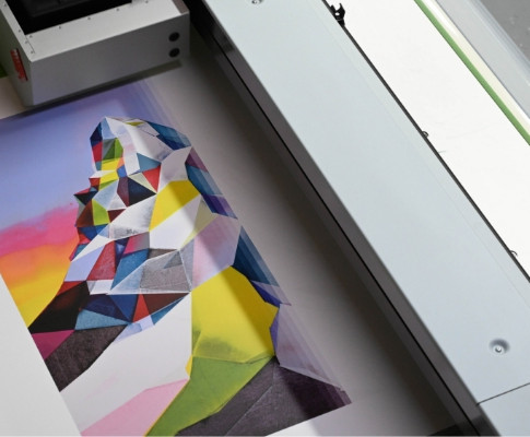 Working with Nelly Duff gallery on Torben Giehler's 'Matterhorn' limited edition