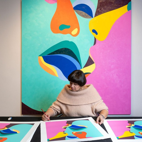 In the studio: Helen Beard I Reflect on My Reflection