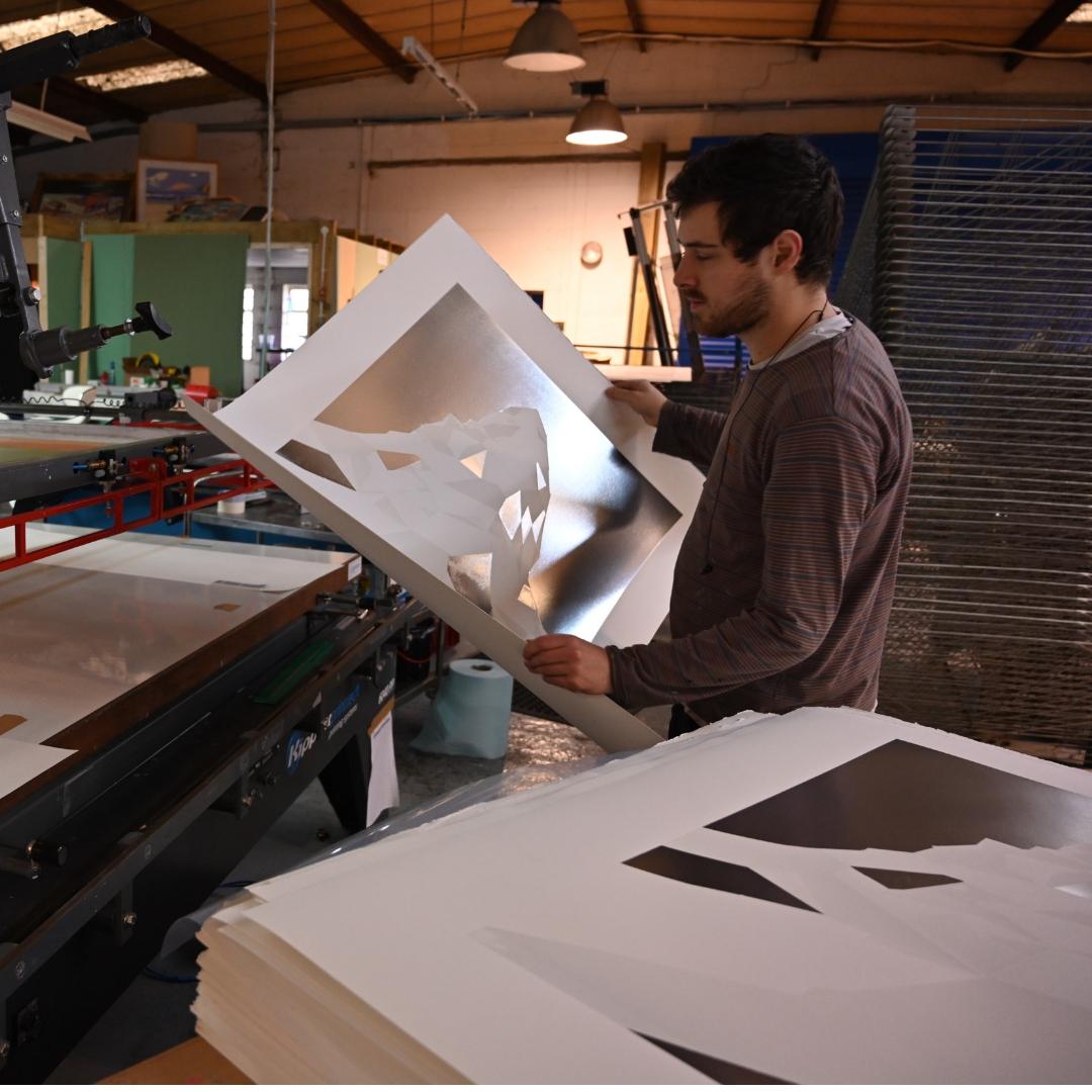 Checking the prints