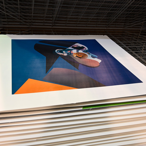 In the Studio: Printing for the Unit London and Ryan Hewett