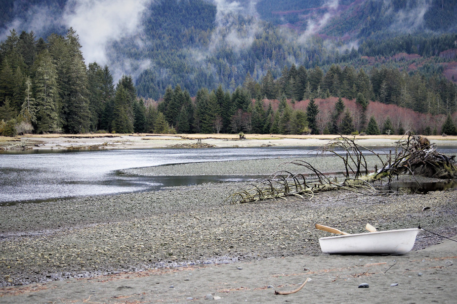 Port Renfrew Beach in Fall