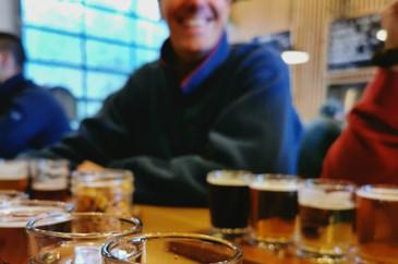 Tofino Brewery Flights