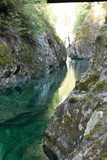 Creek Canyon Vancouver Island River