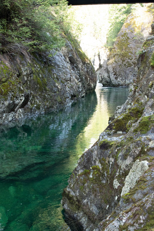 Creek Canyon Vancouver Island River