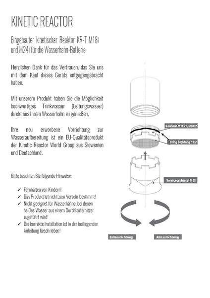 Kinetic Reactor Deutschland - Booklet_Se