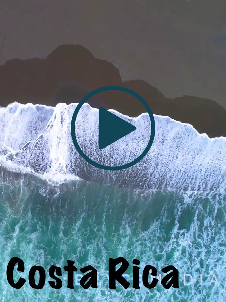 Costa Rica Drone Footage