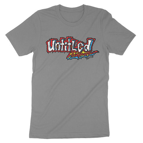 "Untitled ""90s Sketchy"" Tee - Grey"