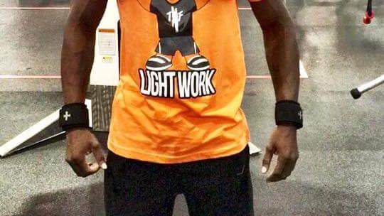 """TBF """"LIGHT WORK"""" Official Mascot Tee"""