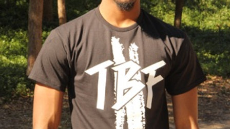 Unisex Black and White TBF Classic T-Shirt