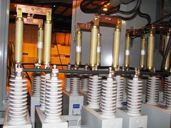 2.4 MVAR Two-Step Capacitor Bank Internals