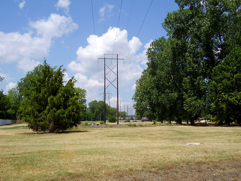 H-Frame Transmission Line; Central Arkansas