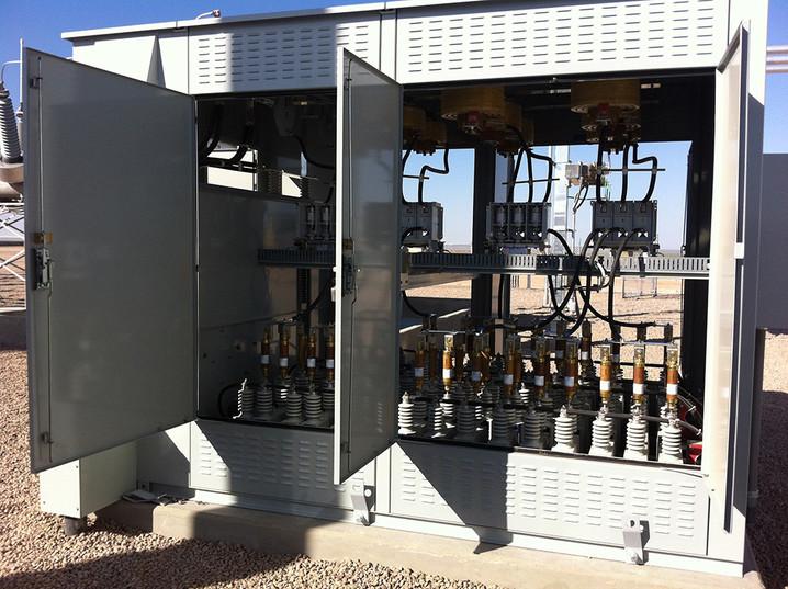 4.8 MVAR Substation Metal Enclosed Capacitor Bank