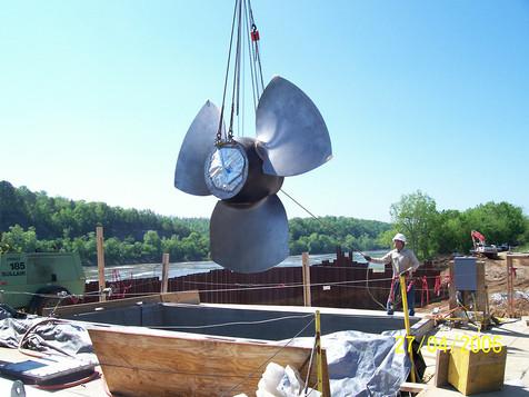 White River Hydro; 2006; 4MW Turbine Placement