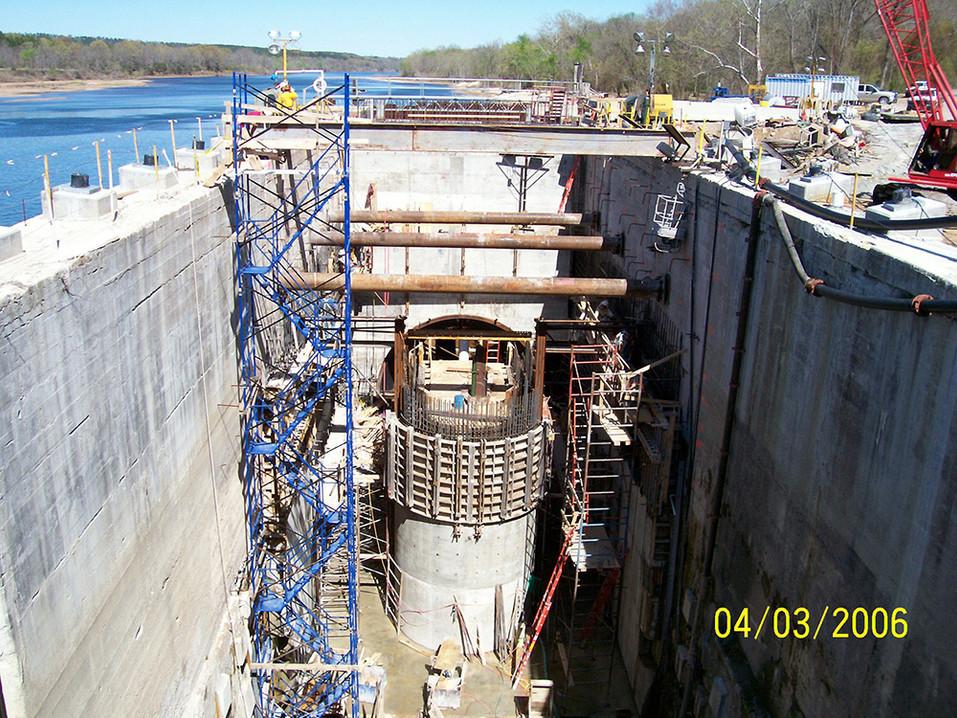 White River Hydro; 2006; Plant Construction