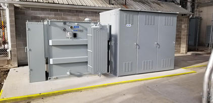 3 MVA 25kv/5kv Transformer with Integral Switchgear
