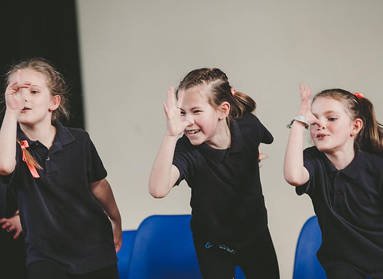Musical theatre dance class