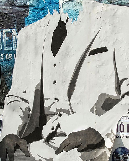 """The White Suit""  wall art, Roma Norte,"