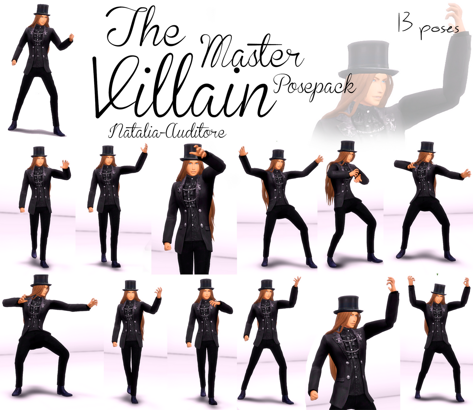 Master Villain Poses